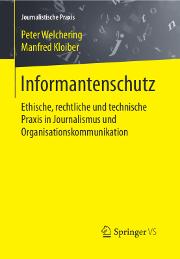 Buchtitel Informantenschutz von Peter Welchering und Manfred Kloiber
